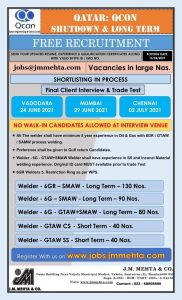 qcon qatar job vacancies 2021