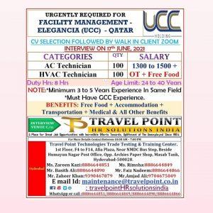 UCC Qatar Jobs